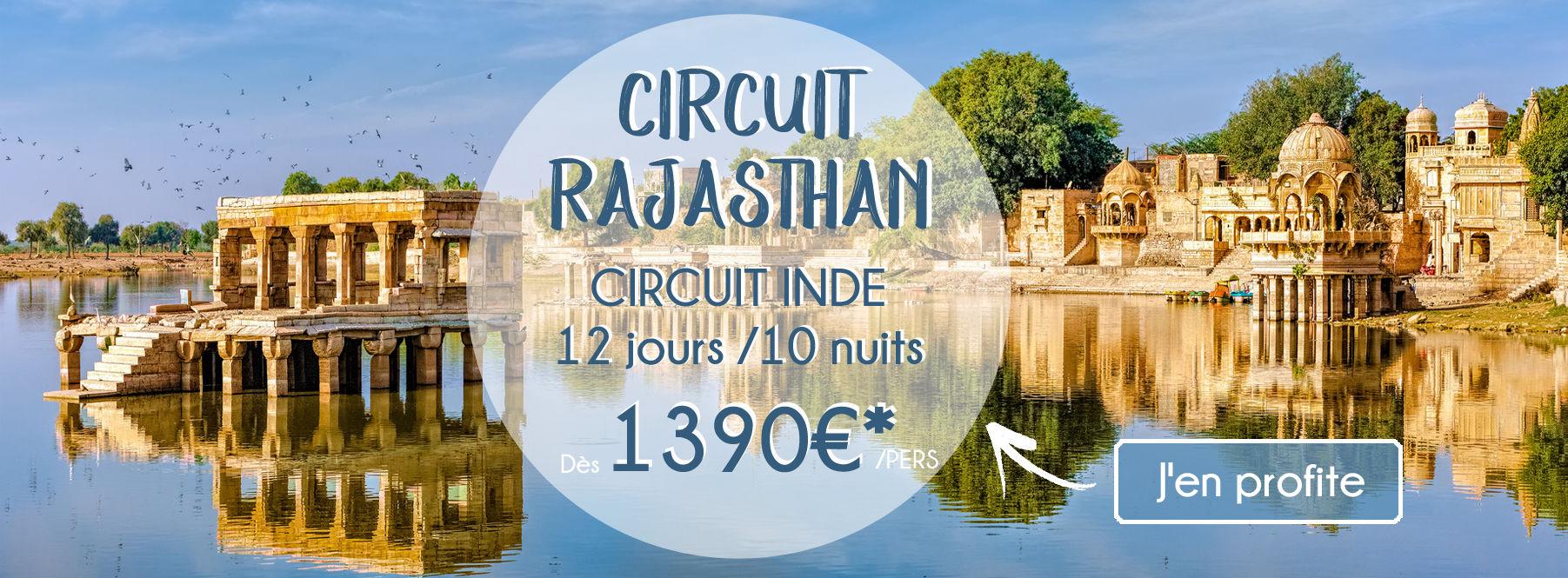 Circuit au Rajasthan